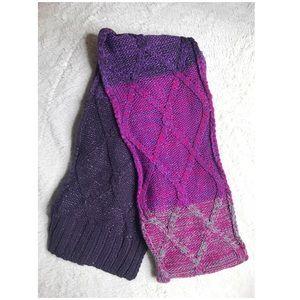 NWT New York & Company Knit Grape Scarf